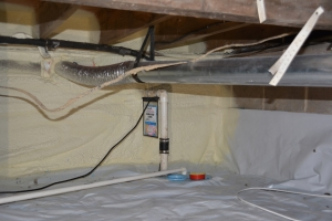 crawl space ventilation provided by Total Home Performance in Easton, MD