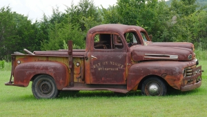 older rusty pickup truck, fly by night operations, total home performance
