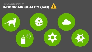 indoor air quality infographic header image