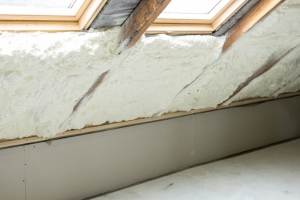 spray foam insulation in the attic