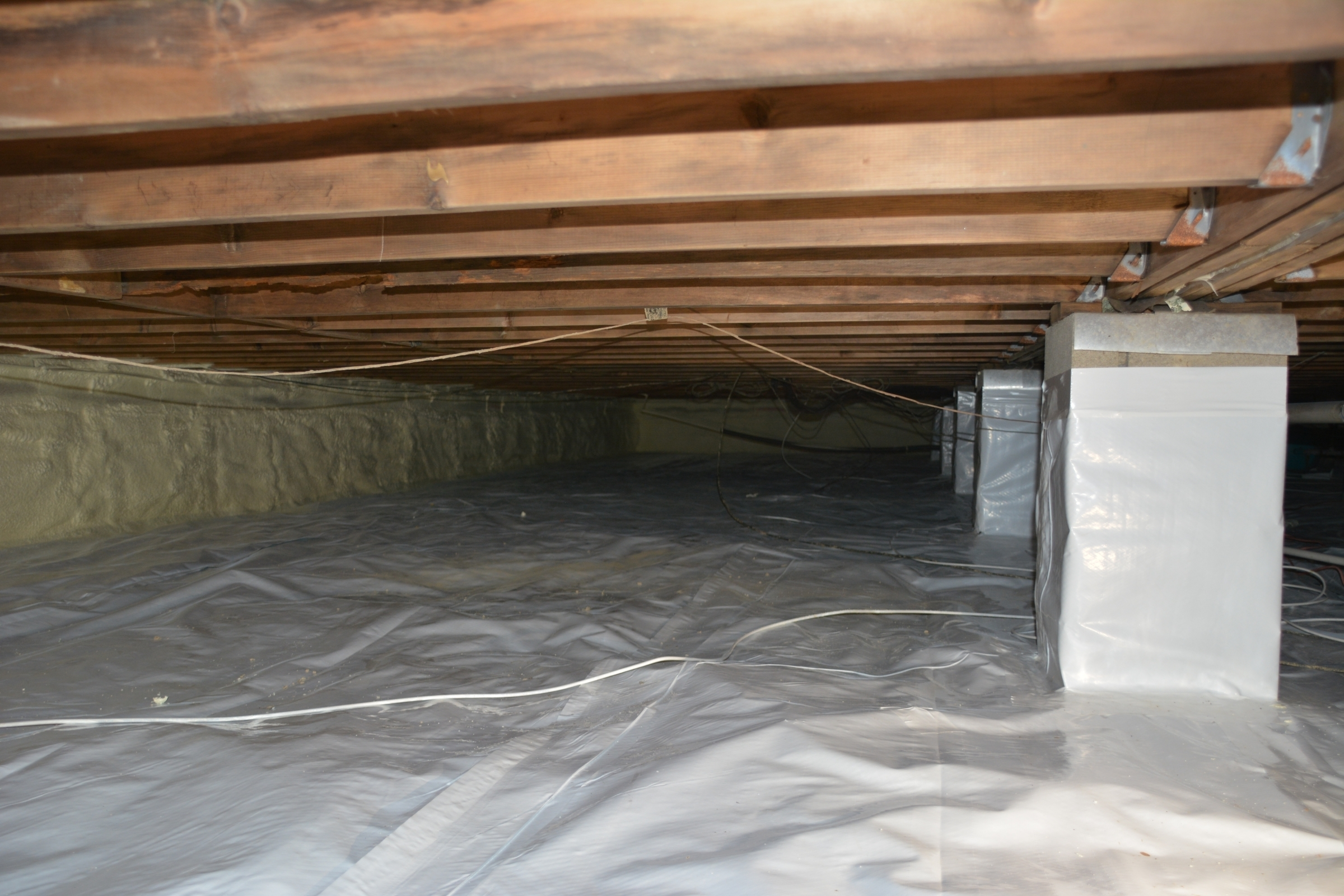 Crawl Space Encapsulation Thp Easton Amp Annapolis Md